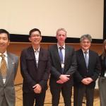 インターナショナルシンポジウムの講演者たち